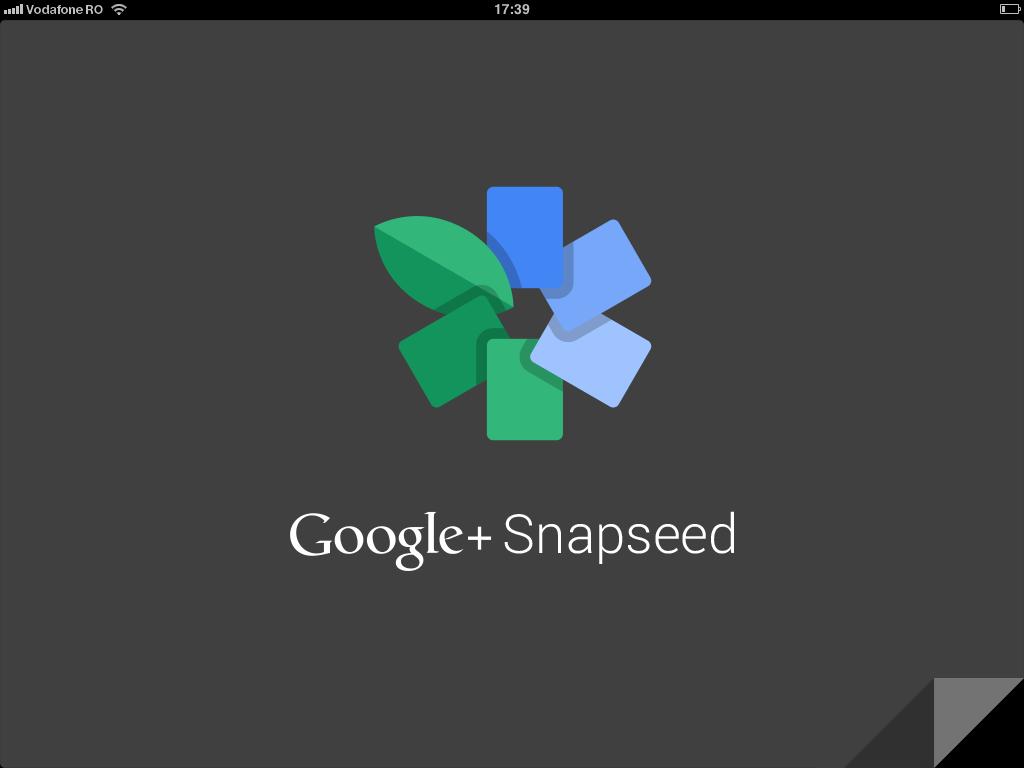 Snapseed este disponibila gratuit in App Store