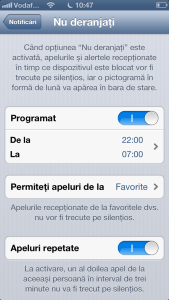 Do Not Disturb iOS
