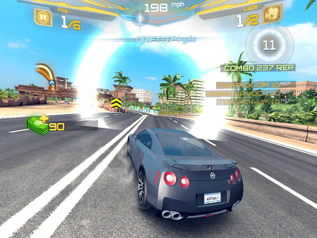 Asphalt 7: Heat pentru iOS – update este disponibil in App Store