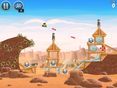 Angry Birds Star Wars HD gameplay