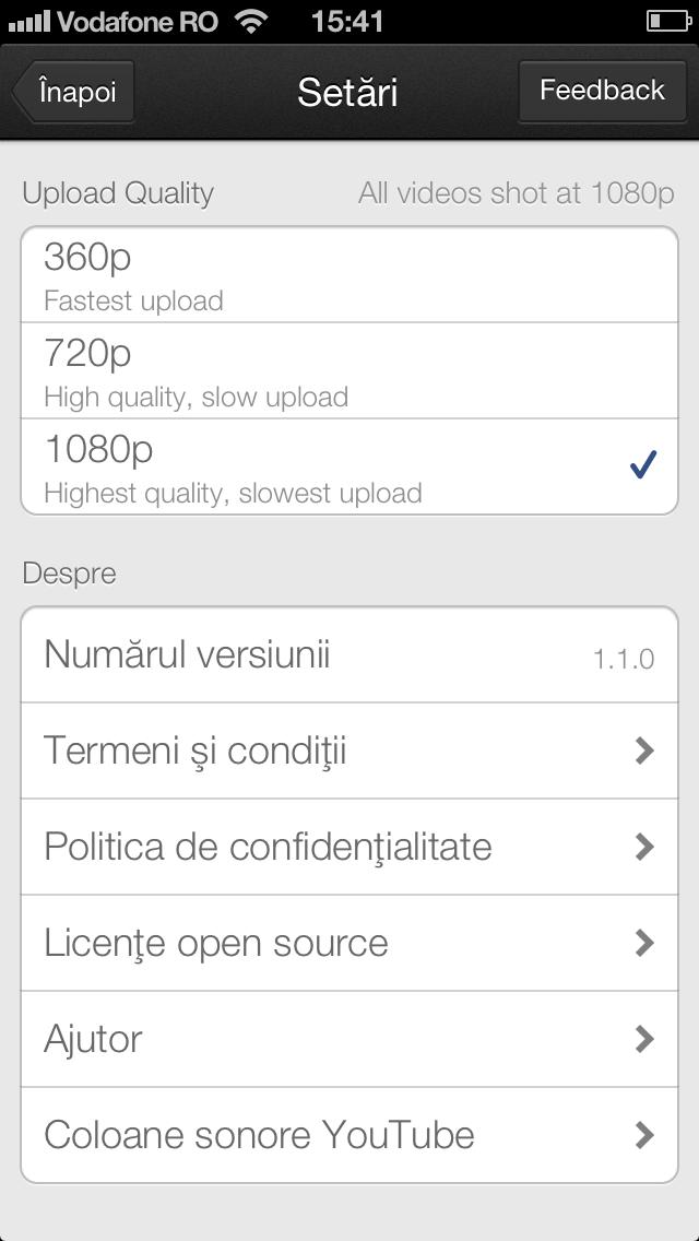 YouTube Capture pentru iPhone si iPod touch – update este disponibil
