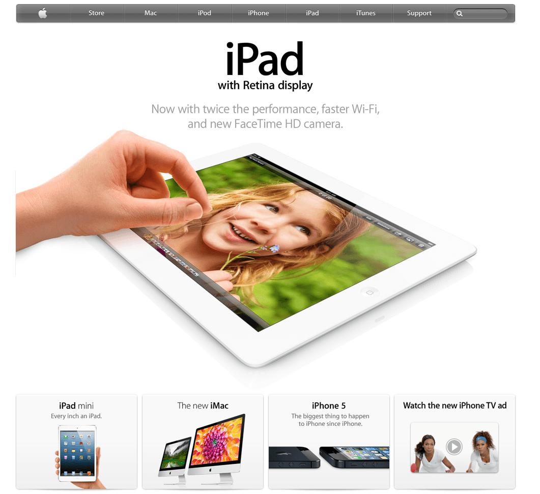 Apple.com de-a lungul celor 15 ani de existenta