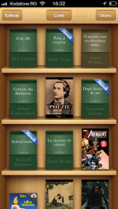 iBooks 3.1 library
