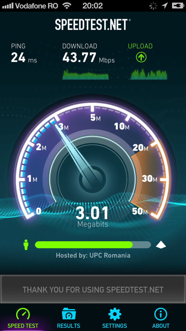 Speedtest.net iPhone