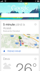 Google Search 3.0 Google Now