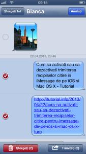 Cum sa copiati, sa redirectionati si sa stergeti SMS-uri