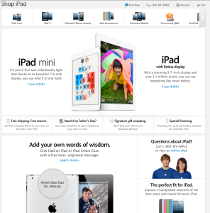 iPad magazin Online Apple
