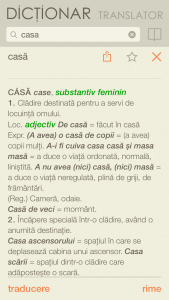Dictionar si translator