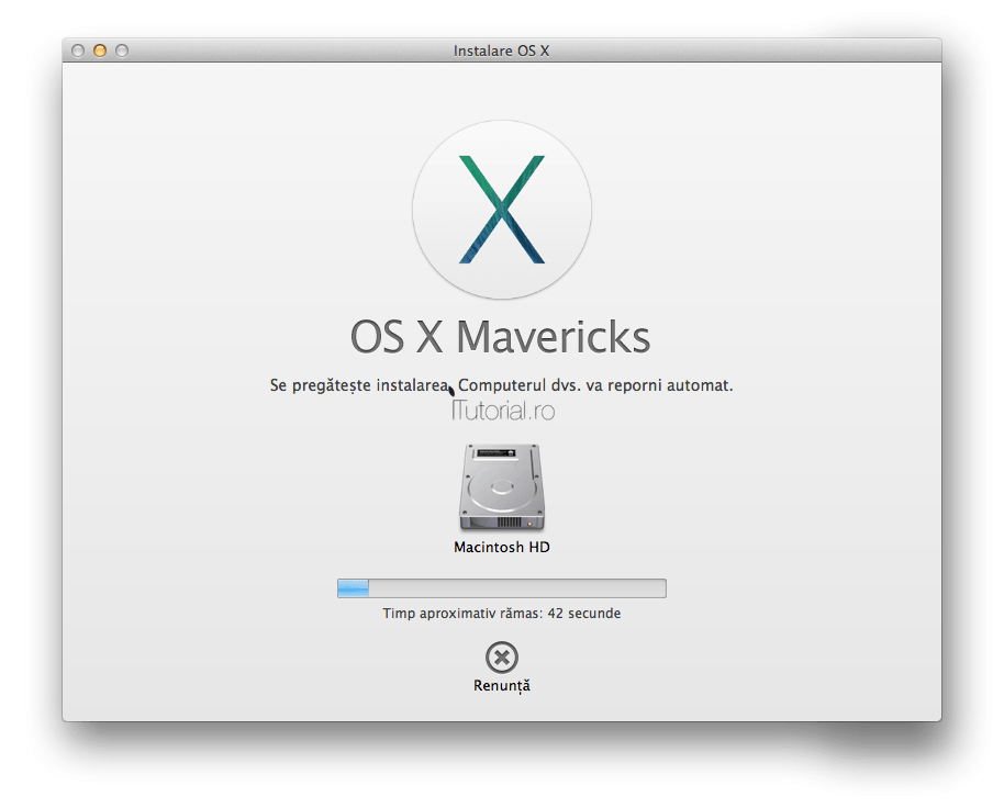 Pregatire instalare OS X Mavericks