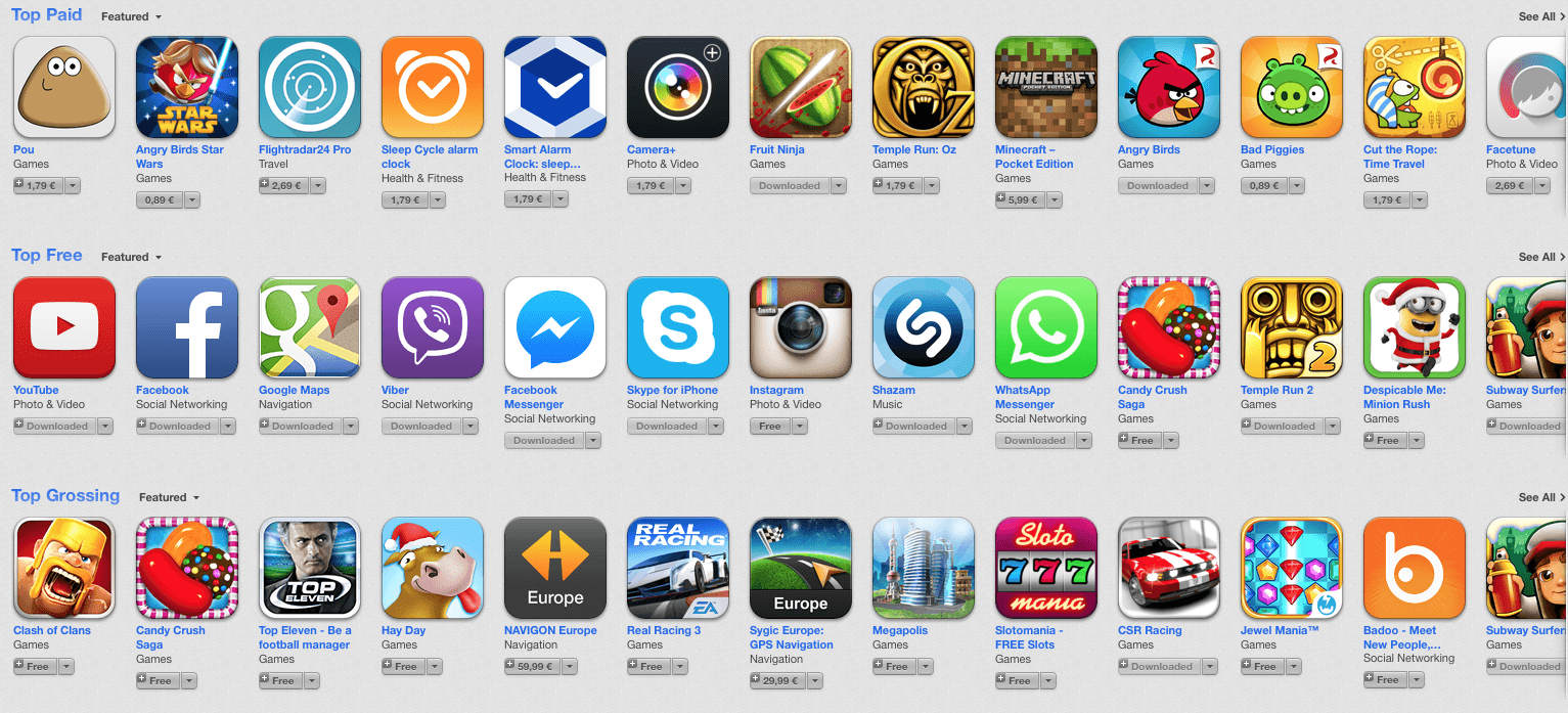 Top 2013 Apps pentru iPhone
