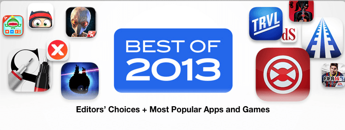 Best of 2013 pe iPad