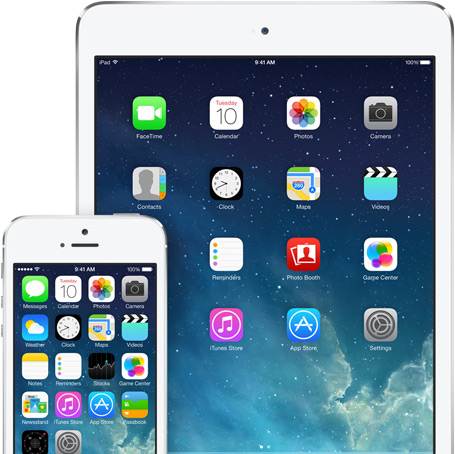 iOS 7 iPhone iPad