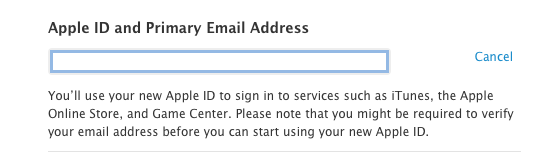 Apple ID email