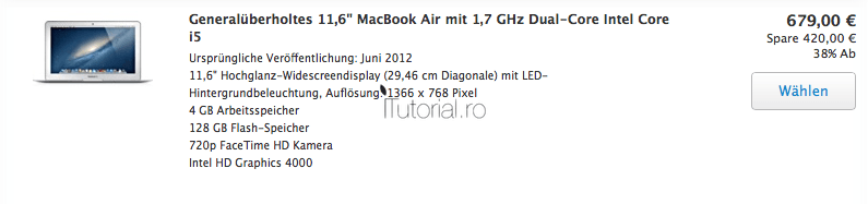 MacBook Air Europa
