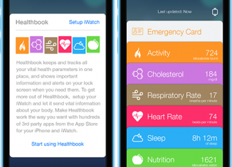 Fă un tur virtual al aplicatiei Healthbook de pe iPhone si descoper-o ...