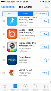 app store top charts