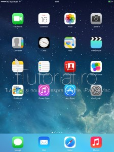 ipad home screen ecran de pornire #itutorialro