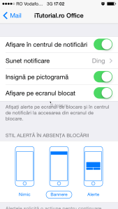 mail notificari