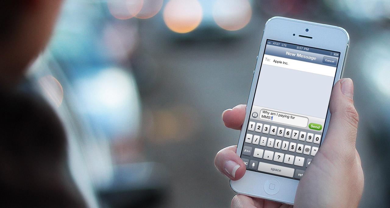 Trimitere sms la toata agenda iphone