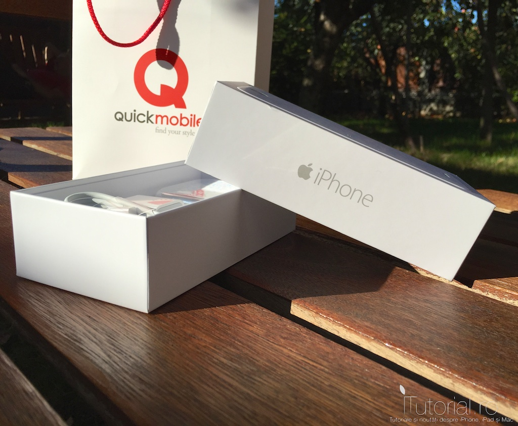 unboxing iphone 6 pe romana