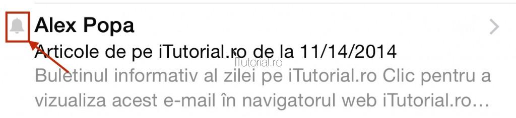 notificare mail