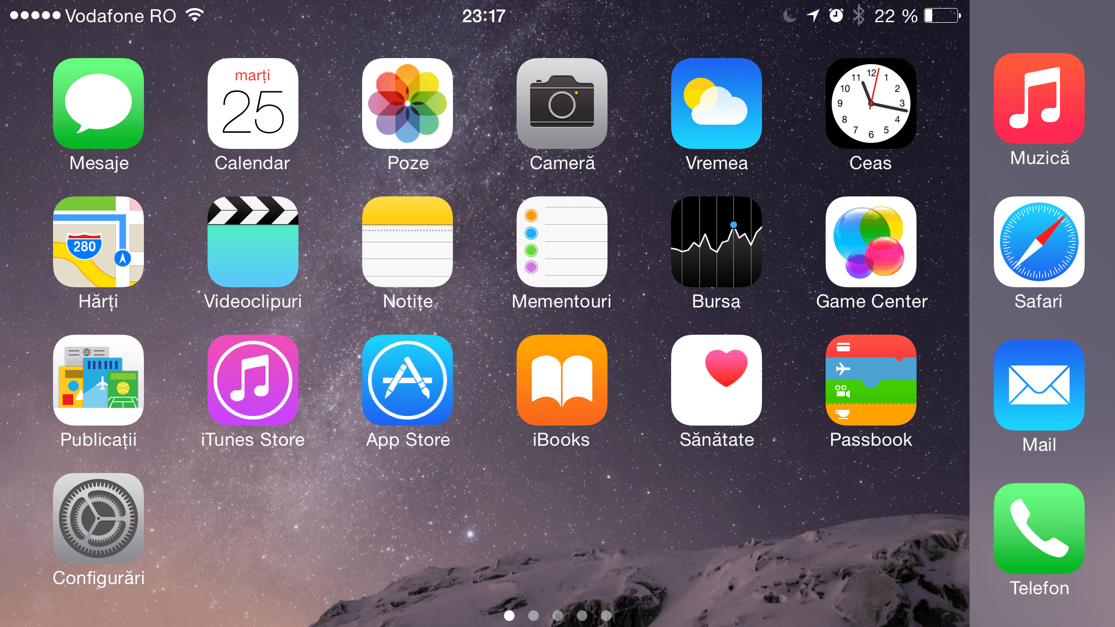 iphone 6 plus home screen vedere