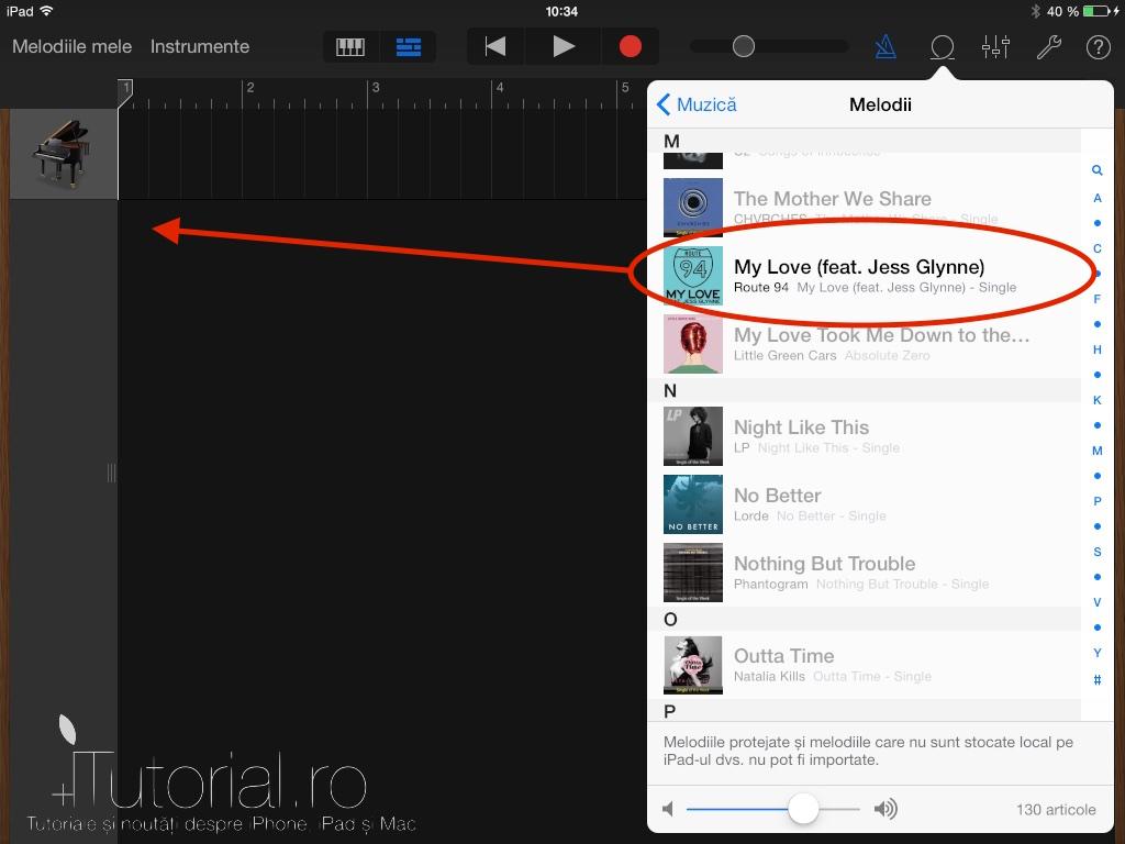 Tutorial video cum s adaugi o melodie ca i ton de apel pe iphone garageband sonerie itutorial 7 baditri Images