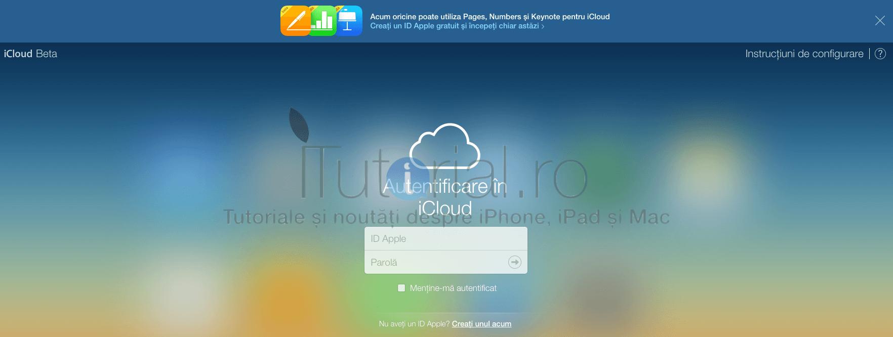 apple icloud.com beta