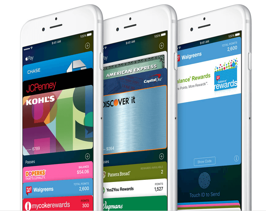 apple pay portofel ios 9