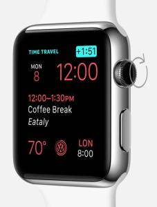 calatorie in timp apple watch watchos2