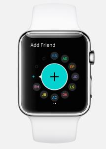 watchos2 applewatch prieteni