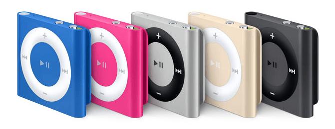 Noua versiune de iPod shuffle
