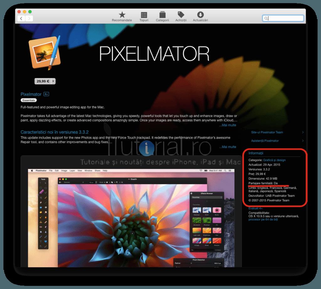 partajare familiala aplicatie mac app store