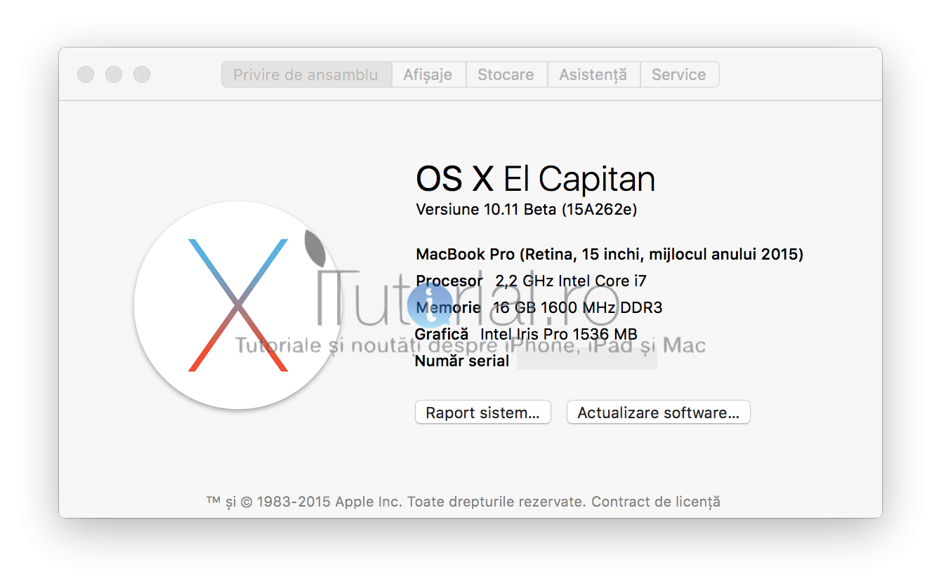 os x 10.11 el capitan beta 5