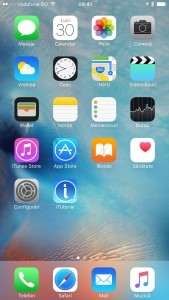 home screen iphone ios 9 ecran principal