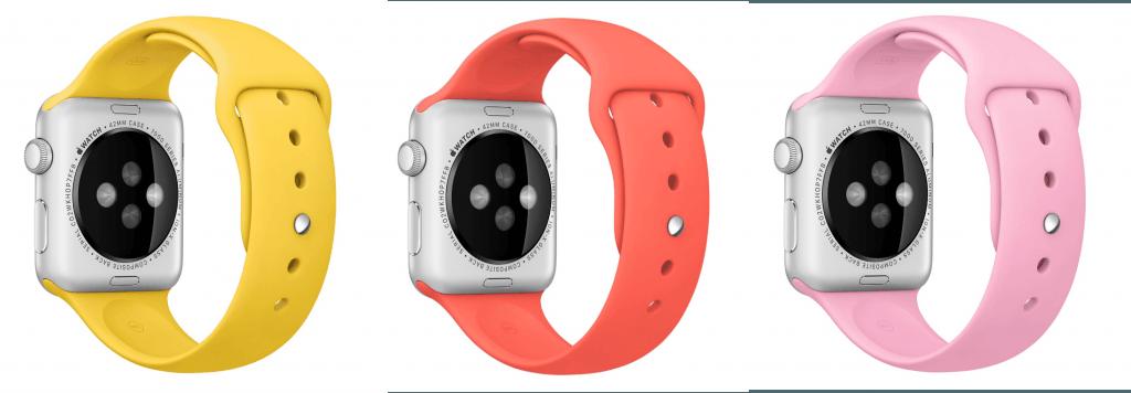 Apple Watch Sport primăvară