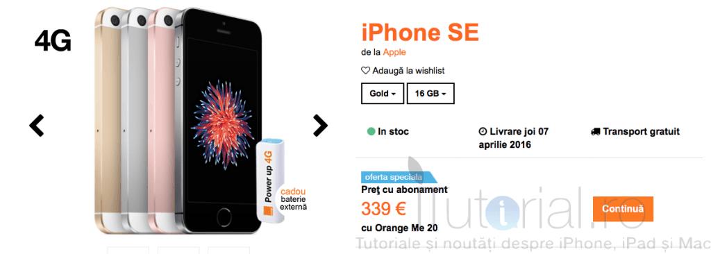 iphone se 16 gb orange