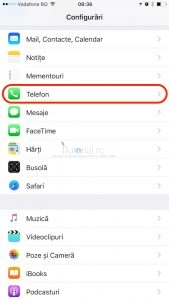 Telefon Configurari