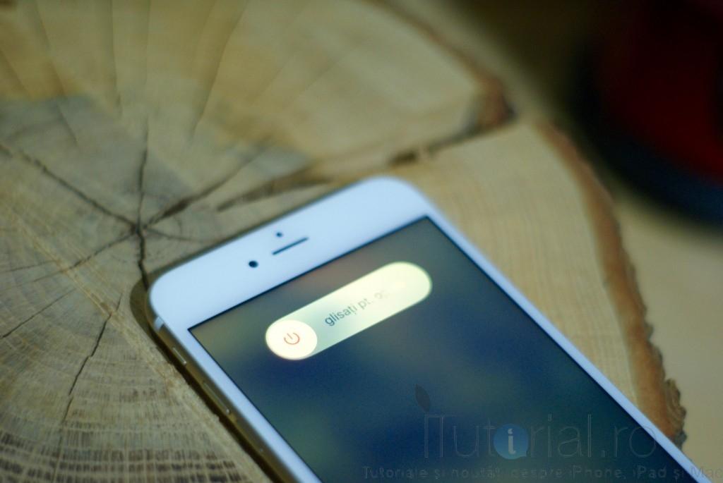 glisati pentru oprire iphone