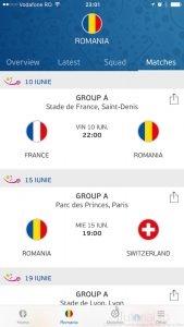 Euro 2016 rezultate
