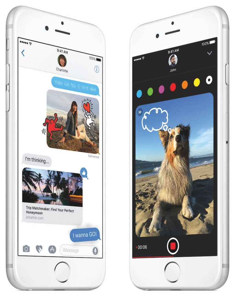 Mesaje noutati iOS 10