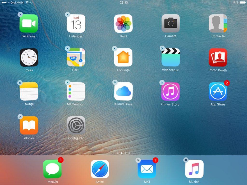 sterge aplicatii preinstalate iphone