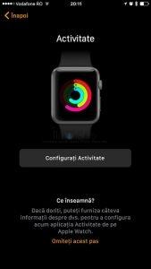Asociere Configurare AppleWatch7