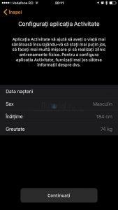 Asociere Configurare AppleWatch8