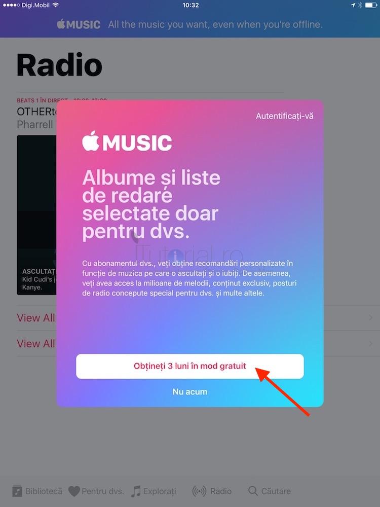 applemusic abonare iOS