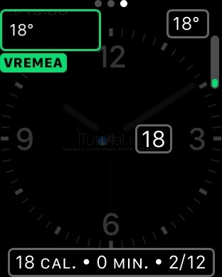 applewatch complicatii cadran