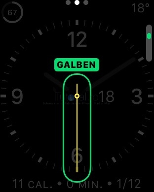 applewatch culoare cadran