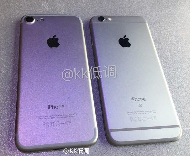 comparatie iphone 7 și 6s