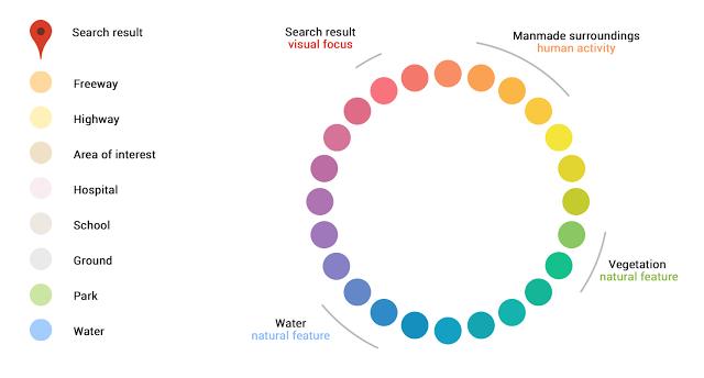 harti google culori