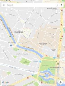 harti google nou aspect